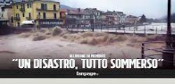 Maltempo : Le immagine delle aree distrutte in provincia di Cuneo