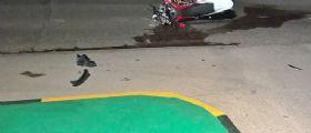 Incidente Macerata tra auto e moto nella notte : Muore un 22enne