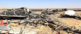 Aereo Russo caduto sul Sinai : Un satellite Usa rileva un lampo di calore