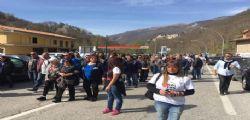 Terremotati in piazza a Roma, bloccata la Salaria ad Arquata