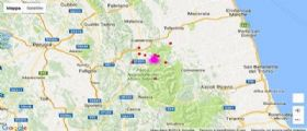 Terremoto Umbria e Marche : Decine di scosse, sfollati in auto e crolli ovunque