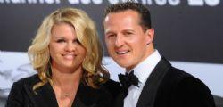 La Moglie di Michael Schumacher : Lentamente migliora