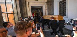 Funerali Paolo Villaggio - oggi l