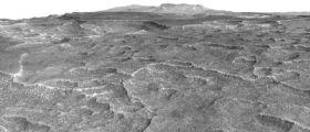 Marte: scoperto un grande substrato di ghiaccio d