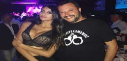 Ahlam El Brinis e Matteo Salvini : il selfie in discoteca