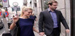 Matrimonio Michelle Hunziker e Tomaso Trussardi : A Milano per l'anello