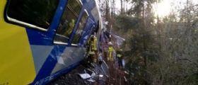 Germania, scontro frontale tra due treni in Baviera : Decine di feriti e almeno 8 i morti accertati