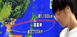 Corea del Nord lancia missile che sorvola il Giappone