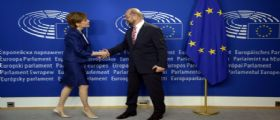 Brexit, il premier scozzese Nicola Sturgeon a Schulz : Vogliamo restare nell
