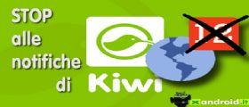 Come disattivare le notifiche di Kiwi su Facebook