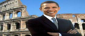 Obama  : Il Colosseo ed i campi da baseball