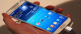 Galaxy S4 : Primi problemi al display