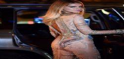Chiara Ferragni quasi nuda alla New York Fashion Week