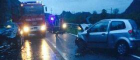 Dolcè, Verona :  Impatto frontale tra due auto, perde la vita la 22enne Alice Magnani