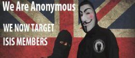 Anonymous oscura i Jihadisti, spenta rete Isis : Siete un virus, noi la cura