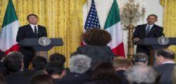 Presidente Matteo Renzi alla Casa Bianca da Barack Obama