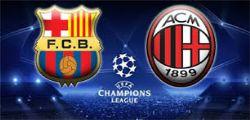 Barcellona-Milan Streaming Diretta tv e Online Gratis Champions League