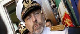 Petrolio e rifiuti : Idagato il capo di Stato maggiore della Marina italiana Giuseppe De Giorgi