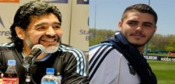 Diego Armando Maradona contro Mauro Icardi : Traditore