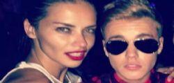 Adriana Lima : una notte di fuoco con Justin Bieber?