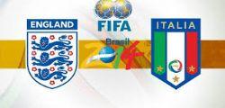 Inghilterra Italia Streaming Live Diretta Partita e Online Gratis Mondiali 2014