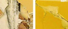 Terremoto Amatrice : nei muri della scuola crollata c