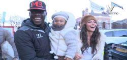 Mario Balotelli e Raffaella Fico sereni a Liverpool con la piccola Pia
