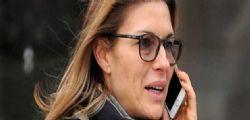 Martina Colombari : l'ex Miss senza trucco in riro per Milano!