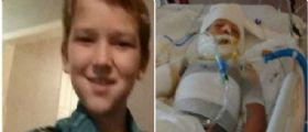 Bulli gli danno fuoco con la benzina: Il piccolo Kayden Culp lotta tra la vita e la morte