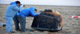 La sonda cinese Chang'E 5-T1 è tornata sana e salva sulla Terra