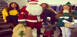 La sexy Belen Rodriguez incanta anche Babbo Natale!