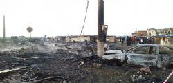 Incendio baraccopoli Foggia :  ventenne morto carbonizzato