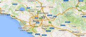 Terremoto Oggi magnitudo 2.5 ad est di Roma, Epicentro a Fonte Nuova