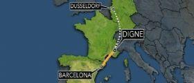 Francia, Airbus tedesco si schianta con 148 passeggeri :  Si teme siano tutti morti