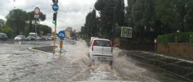 Nubifragio sul Lazio : Maltempo e temperature in calo oggi e domani