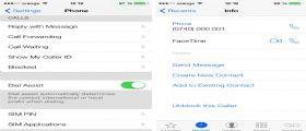 Su iOS 7 la possibiltà di bloccare Chiamate e i Messaggi indesiderati