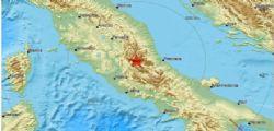 Terremoto Oggi : nuova scossa - sisma magnitudo di 5,3