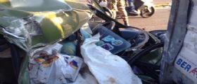 Napoli : Anziano 90enne si schianta con l