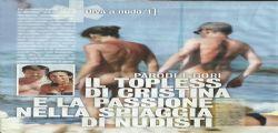 Cristina Parodi e il marito Giorgio Gori tutti nudi in spiaggia