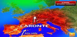 Meteo - caldo africano Caronte: fino a 39 gradi tra venerdì e sabato