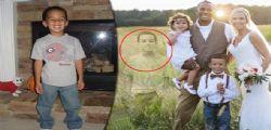 Il piccolo Lake Bozman muore di leucemia : la mamma lo fa inserire nella foto di nozze