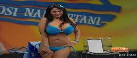 Marika Fruscio senza veli per il Napoli