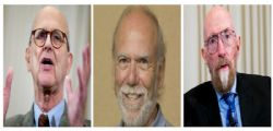 Nobel per la Fisica 2017 a  Rainer Weiss, Barry C. Barish e Kip S. Thorne