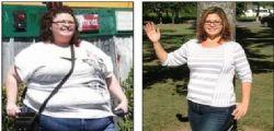 Rebecca Privitera era obesa: perde 100 kg grazie a un DVD