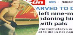 Viktoria Kuznetsova : Mamma 17enne abbandona il figlio di 9 mesi per andare in vacanza e il piccolo muore