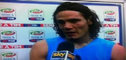 Intervista SKY Cavani fa arrabbiare De Laurentiis - VIDEO