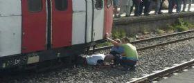 Circumvesuviana, 70enne contro un treno : Vivo per miracolo