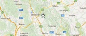 Terremoto Perugia : Serie di scosse, la più forte di magnitudo 3.4