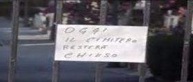 Corleone : cimitero chiuso al pubblico e transennato per Totò Riina