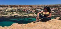 Laura Torrisi incontenibile a Malta